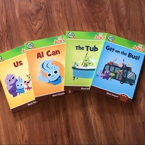 Other - Leap frog Tag Jr Books